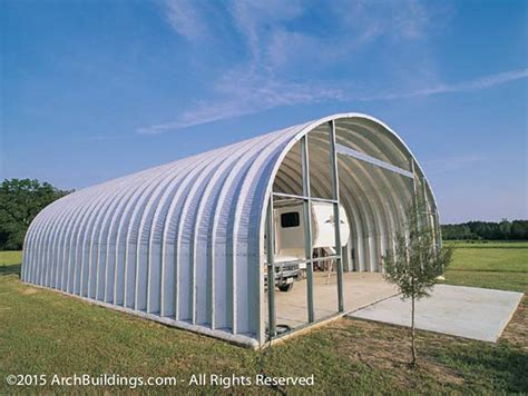 30x60 Steel Arch Rv Storage Building Archbuildings Com