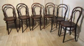 bentwood bistro chairs for sale set of 6 thonet bistro bentwood chairs antiques atlas
