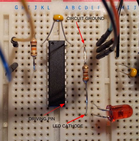 how do you place integrated circuit on breadboard digital logic new to breadboarding and ic electrical engineering stack exchange