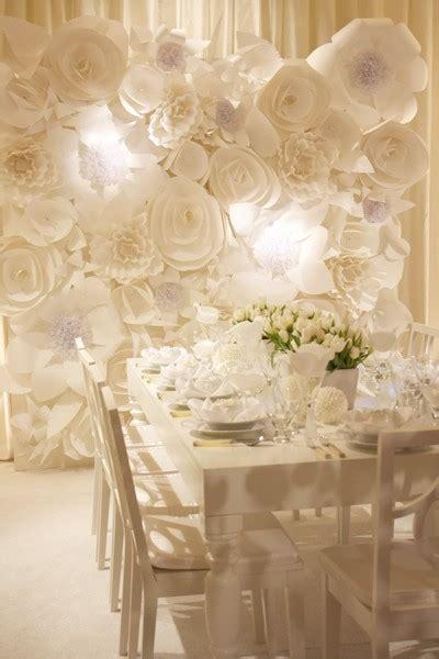 wall flower decoration ideas pancakes glue guns diy paper flower wall