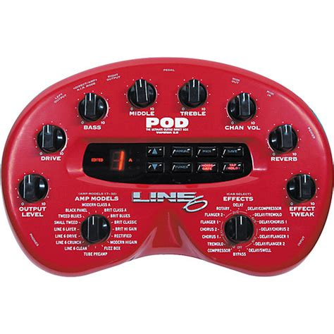 Your Guide To Pod by Line 6 Pod 2 0 Modeler Musician S Friend