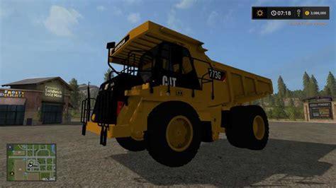 Topi Trucker G1 Ls cat 773g v1 1 farming simulator modification farmingmod