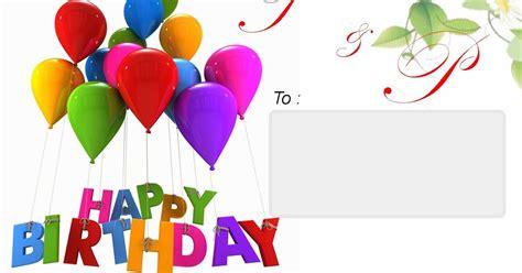 Undangan Hari Ulang Tahun by Undangan Ulang Tahun Anak Psd Wong