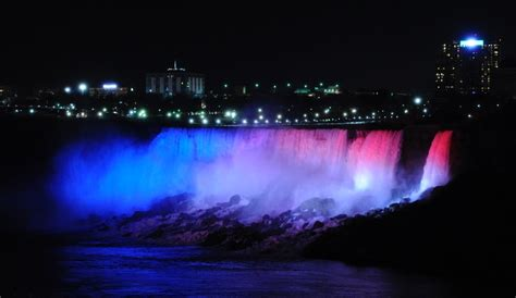 niagara falls lights niagara falls light gets a high tech makeover