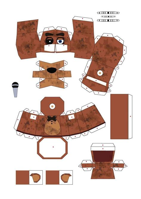 Papercraft Costume - 64 best fnaf papercraft images on