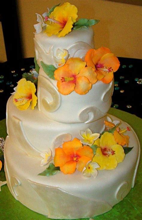 luau wedding cakes luau wedding cake by the butter end cakery keywords