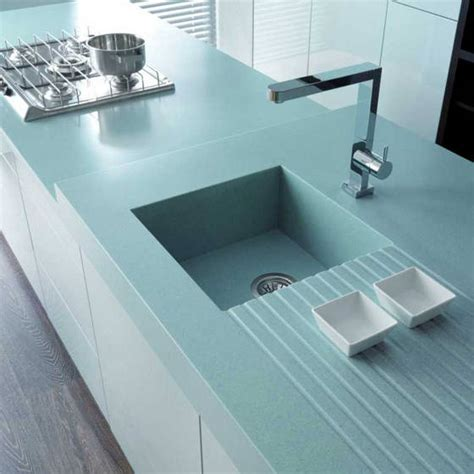 Solid Surface Kitchen Sink Low Maintenance Manmade Countertops Cullen Construction Company