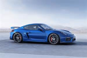 Blue Porsche 2016 Porsche Cayman Gt4 Blue The Fast Car