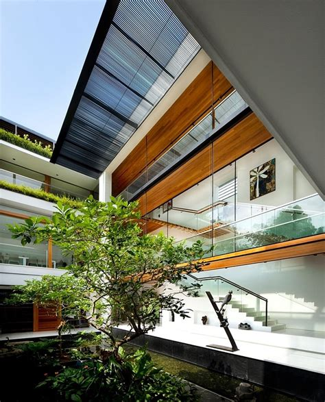 guz architects tropical bungalow inspired residence in singapore by guz