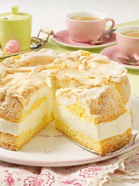 baiserhaube auf kuchen zitronencreme torte mit baiserhaube rezept torte