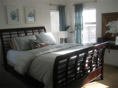 blue  brown bedrooms design ideas
