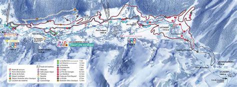 Palns serre chevalier cross country skiing piste map alpski com
