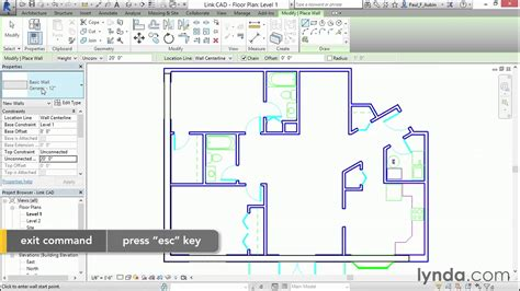 autocad tutorial floor plan autocad seven day tutorial day2 lesson5 first floor