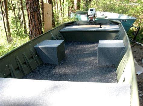 jon boat rubber flooring 10 ft aluminum jon boat plans free boat building plans
