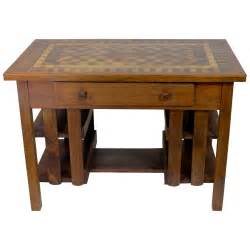 mission style desk early 20th c arts and crafts stickley mission style desk