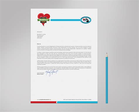 letterhead for charity letterhead design for kristen mccullough by logodentity