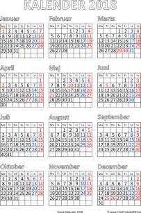 Kalender 2018 Gratis Kalender 2018 Med Helligdage Gratis Printable Pdf