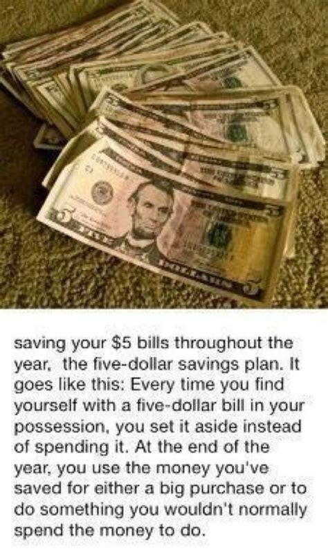 5 Money Ideas That Take 5 Dollar Challenge Must Do Challenges