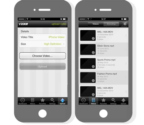 mobile upload image mobile hosting upload from your iphone using vzaar