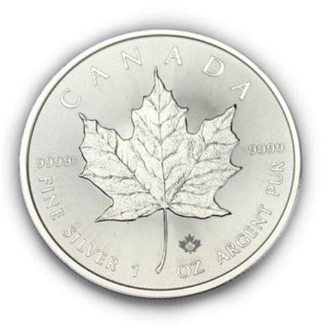 1 Ounce Silver Coin Canada - gold bullion coins 1 ounce canadian silver maple 2015