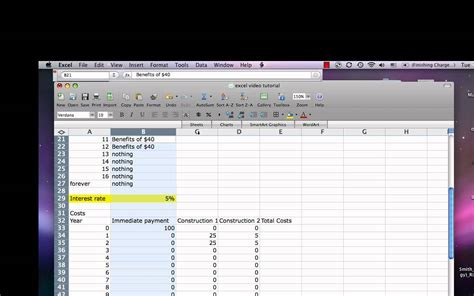 Excel Cost Benefit Tutorial Mp4 Youtube How To Create A Template In
