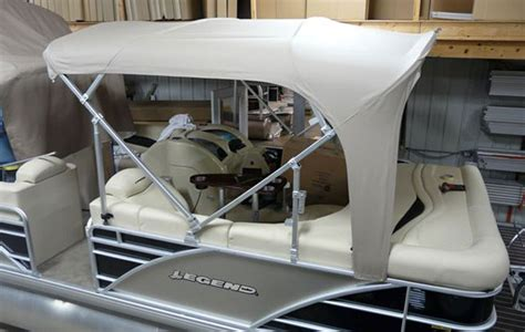 how to install bimini top on pontoon pontoon tops convertex