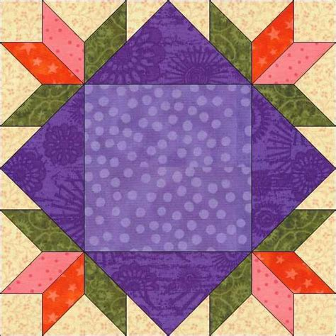 Flower Quilt Block Patterns by Flowers In The Window Quilt Block By Quiltingbyjacqu Craftsy