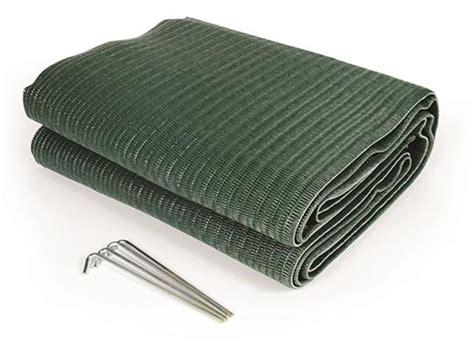 camco awning mat camco 42880 9 x 6 reversible rv awning mat green