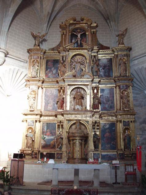 retablo de la iglesia guijo de coria