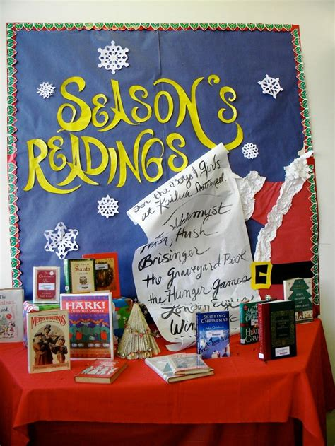 reading themes for december season s readings library display ideas pinterest