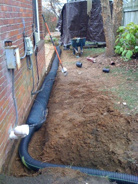 drainage for backyard 25 best ideas about french drain system on pinterest