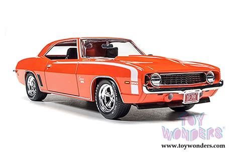 124 Chevy Ss 67 Dubcity 1969 custom chevy camaro ss top aw24004 1 24 scale