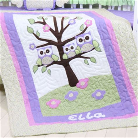 baby blanket personalized crib quilt from custom quilts