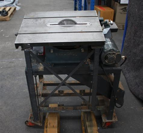 combination saw bench combination table saw planer lot 738224 allbids