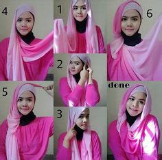 tutorial hijab pesta india hijabs hijab styles and hijab tutorial on pinterest