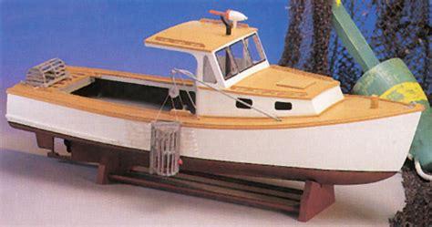 build wood lobster boat    diy building plans