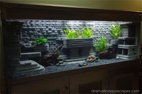 dramatic aquascapes aquarium backgrounds for large tanks 2017 fish tank