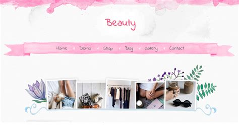 beauty blogger template blogger templates gallery