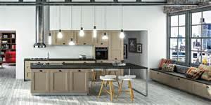 arbois mod 232 le de cuisine bois moderne sagne cuisines