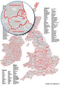 us map with county boundaries uk county boundary map with postcode areas