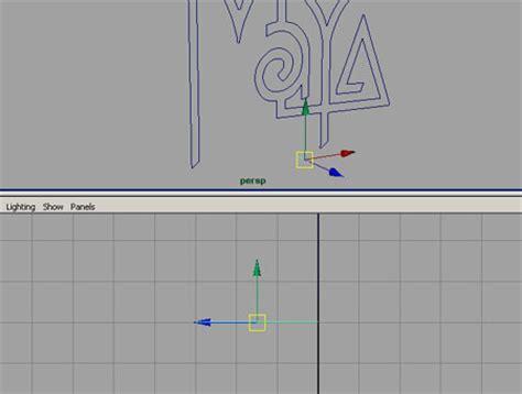 tutorial logo design studio tutorial autodesk maya 3d modellazione 3d logo maya