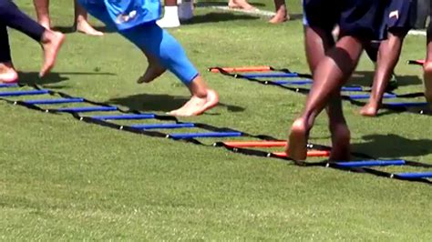 where do the chargers practice practice is like a barefoot walk in the park for