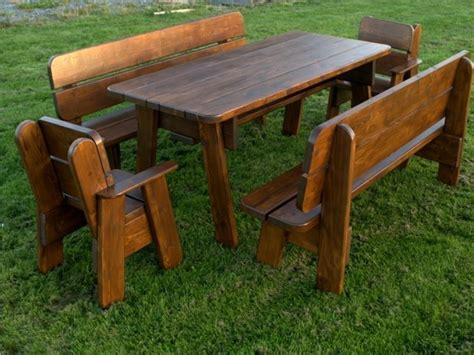 tavoli in legno da giardino tavoli da esterno in legno tavoli da giardino