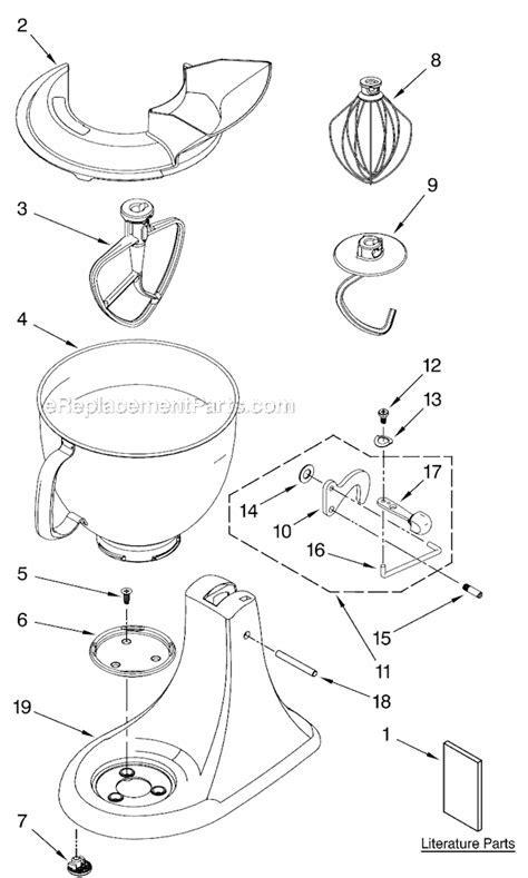 Kitchenaid Mixer Parts Kitchenaid Mixer Parts Diagram Kitchen