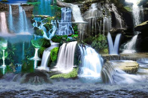 wallpaper gif waterfall water landscape gif by faith holland find share on giphy