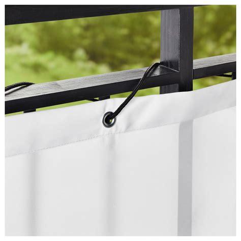 pare ikea dyning brise vue pour balcon blanc 250 x 80 cm ikea