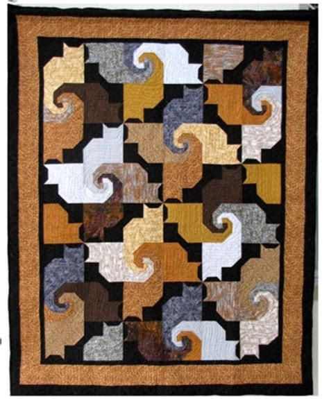 Patchwork Cat Quilt Block Patterns - 1000 images about quilts tessellations on