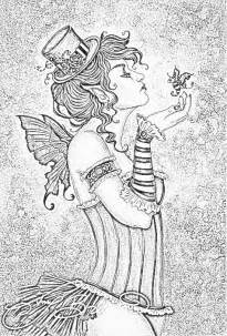 goth fairy coloring pages for adults more information