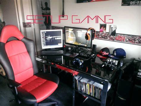 Gaming Office Setup by Setup Gaming De Jeune Joueur Et Youtubeur Youtube