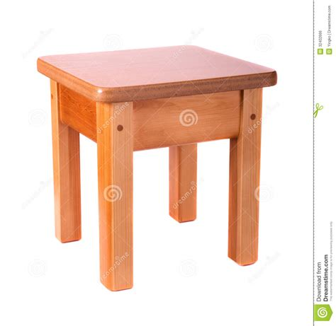 small wooden stool royalty  stock image image
